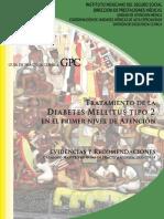 Guia de practica clinica para Diabetes mellitus tipo 2