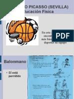 Ies Pablo Picasso (Sevilla) Educación física