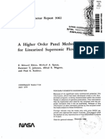 A Higher Order Panel Method for Linearised Supersonic Flow