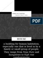 Parts of a House Arias