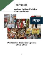 Understanding Indian Politics Course Guide 12-13