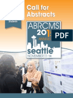 ABRCMS Call for Abstracts 2015