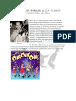Chachachá - Baile de Salon Cubano