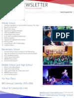 BIFS Newsletter, 2015-08-21 (English)