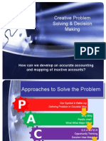 Creative Problem Solving & Decision Making FINAL for Editing