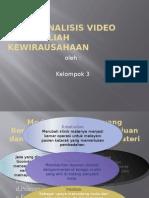 Tugas Analisis Video KWU