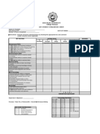 ojt performance evaluation form 1 Internship performance of tourism and hospitality  (1) to identify the  the researchers used the performance evaluation tool to measure and obtain the necessary.