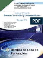 Bombas de lodos y desarenadores