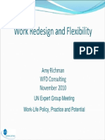 People Oriented Work Redesign, Amy Richman