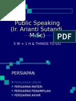 2 - Public Speaking