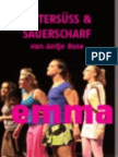 Theater Osnabrück BITTERSÜSS & SAUERSCHARF 2008/09