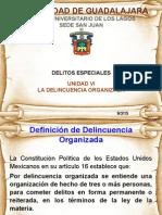 Delincuencia_Organizada-Modalidades y Sujetos