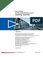 BMC PATROL for Microsoft Windows Servers Getting Started