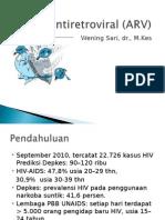ANTIRETROVIRAL (ARV)