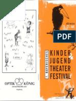 AUGSBURG Bayerisches Kinder- und Jugendtheater Festival 2000