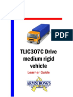 TLIC307C - Drive Medium Rigid Vehicle - Learner Guide