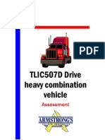 TLIC507D - Drive Heavy Combination Vehicle - Learner Guide