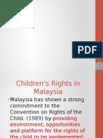 Children's Right in Malaysia