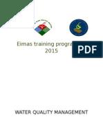 Program Latihan EIMAS 2015