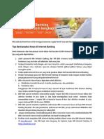 Tips Pengamanan Bertransaksi 0315