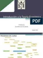 introducción a la teoría económica