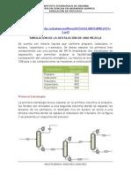 Simulacion de Un Tren de Destilacion