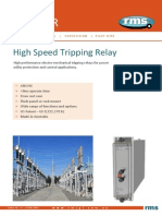 TR12 Tripping Relays Alpha
