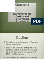 Quality and Performance Excellence 7E Chapter 2