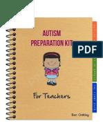 Autism Preparation Kit for Teachers Preview