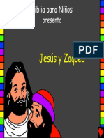 Jesus and Zaccheus Spanish PDA