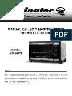 Kelvinator-KO-18CS-manual uso horno electrico.pdf
