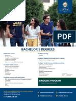 UCAM Programs Leaflet A4 - English