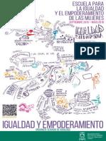 Conferencias, cine-fórum, clubes de lectura, talleres y otras actividades completan la oferta de la Escuela para la Igualdad y el Empoderamiento de las Mujeres de Vitoria-Gasteiz