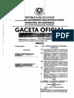 Ordenanzas de equipamiento comunal guayaquil