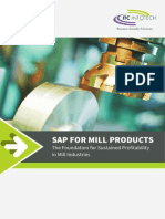Sap for Mill Products