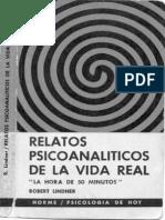 Robert Linder - Relatos Psicoanaliticos de La Vida Real