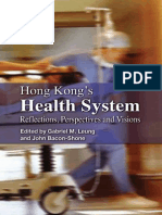 Hong Kong's Health System