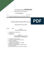 Sheria ya Uchaguzi-The Electronic Transactions Act 2015