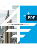Columbia Business School Exec Ed 2015 Catalog