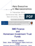 SME Finance and Hometown Investment Trust Funds