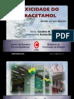 Toxicidade Do Paracetamol