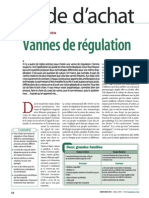 805 GA Vanne Regulation
