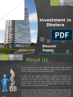 Investment in Dholera