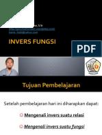 INVERS FUNGSI