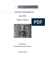 The Asian EFL Journal Quarterly June 2015