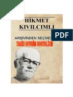 Hikmet Kıvılcımlı Tarih Devrim Sosyalizm
