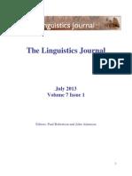 Volume 7 Issue 1 2013