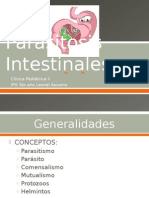 Parasitosis Intestinales en Pediatria