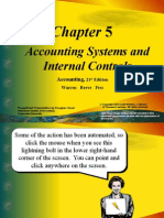 Accounting System and Internal Control, Warren, 21st edition