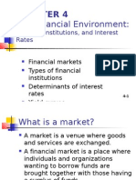 CHAPTER 4 the Financial Environment: